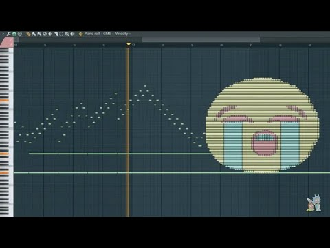What 😭 Sounds Like, sounds loudly - MIDI Art