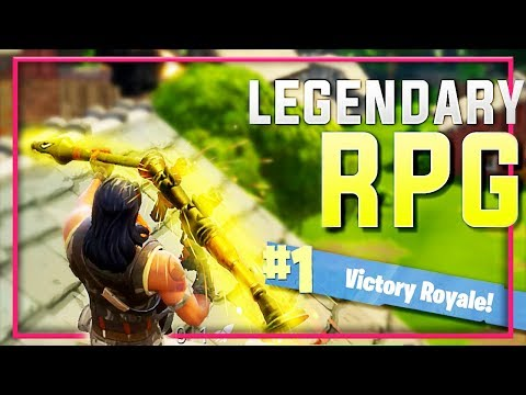 "LEGENDARY RPG VICTORY  ""Fortnite Battle Royale"""