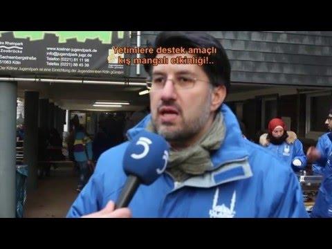 Köln'de Yetimlere destek amaçlı kış...