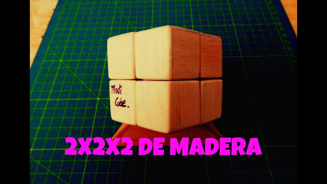 Como hacer un cubo 2x2x2 de madera youtube - Cubos de madera ...