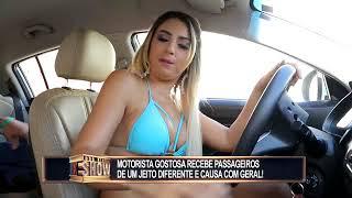 Motorista gata vai buscar passageiros bem à vontade e cria uma tremenda confusão thumbnail