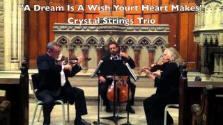 """A Dream Is A Wish Your Heart Makes"" Crystal Strings Trio"