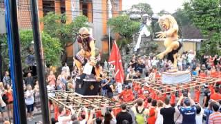 parade ogoh-ogoh ubud 2013