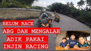 Syafiq onboard, Practice pocket bike, trek sijangkang 30/08/2020