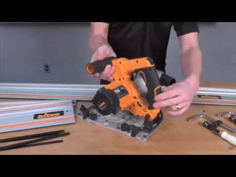 Infinity Cutting Tools - Triton Track Saw + Accessories