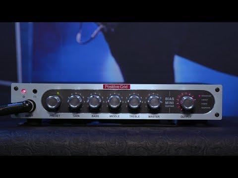 Positive Grid Mini Amp Heads - NAMM 2018