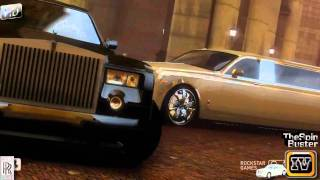 GTA 4 - Rolls - Royce Phantom 2003 Sedan vs. Rolls - Royce Phantom 2003 Strech Luxury Style