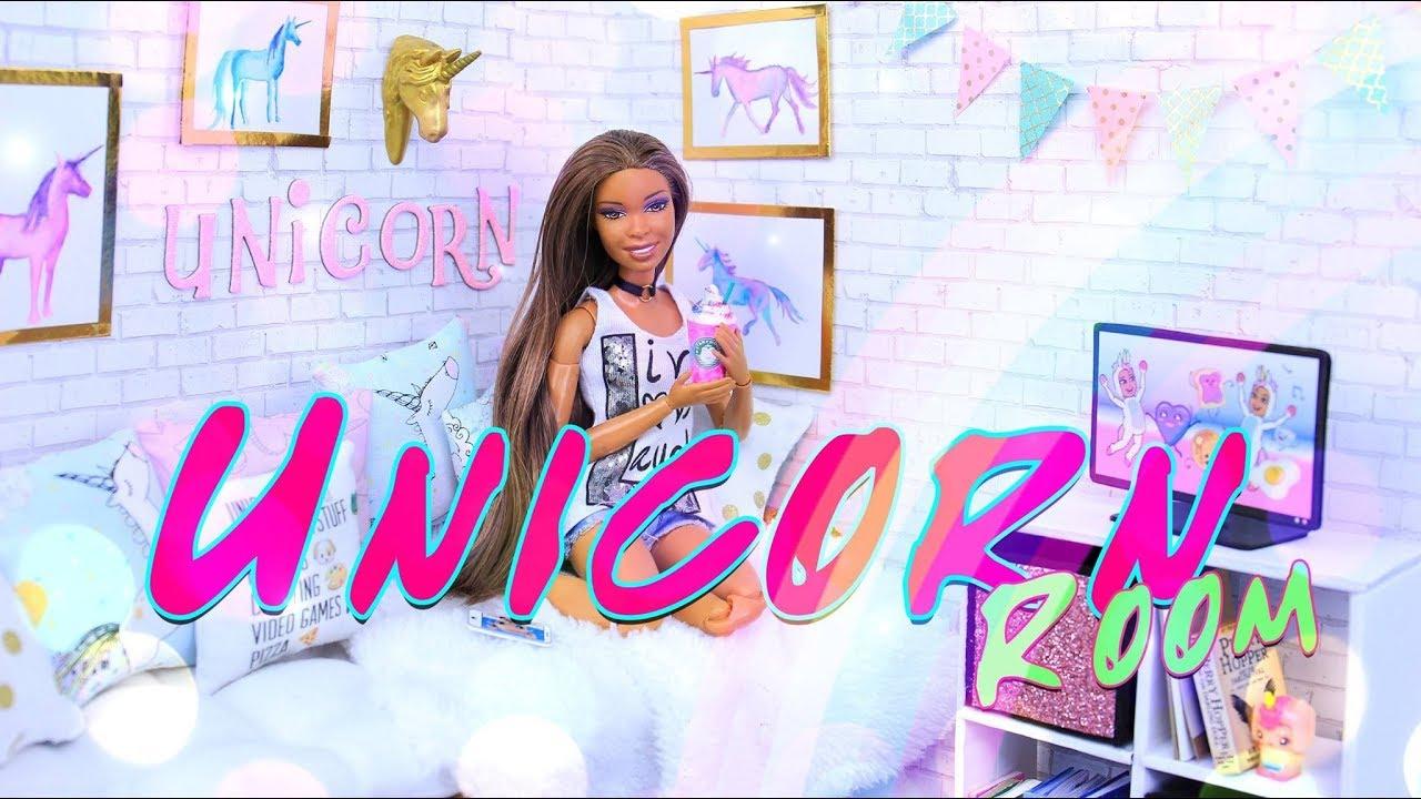 Diy How To Make Unicorn Doll Room Dollhouse Crafts