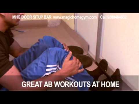 Magic Home Gym Door Situp Bar