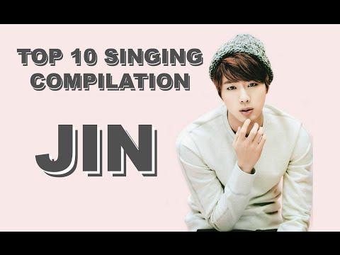 Jin (BTS) - Top 10 Singing Compilation