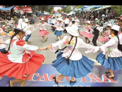 FOLKLORE BOLIVIANO - HUAYÑOS ENGANCHADOS-LOS DADOS NEGROS