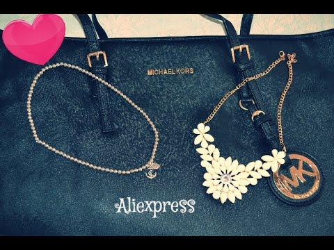 d362a973b9d8d1 Haul aliexpress ita #2 -Michael kors bag - YouTube