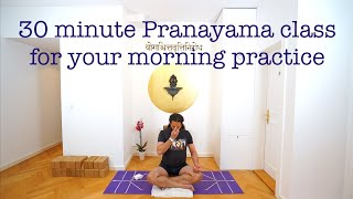 30 minute Pranayama class by Shahid Khan.