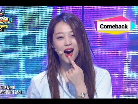 f(x) - All Night, 에프엑스 - 올 나잇, Show Champion 20140709 Mp3
