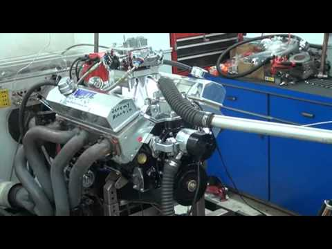 WHITE PERFORMANCE 383 ENGINE DYNO FOR JEREMY MARTIN