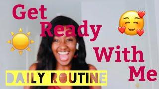 ROUTINE SOINS DU VISAGE POUR PEAUX GRASSES- Get Ready With Me: Work Edition