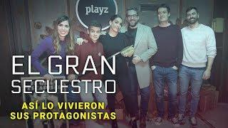 Así vivieron Arkano, Ruth Lorenzo, Máximo Huerta y María Gómez 'El gran secuestro' | Playz