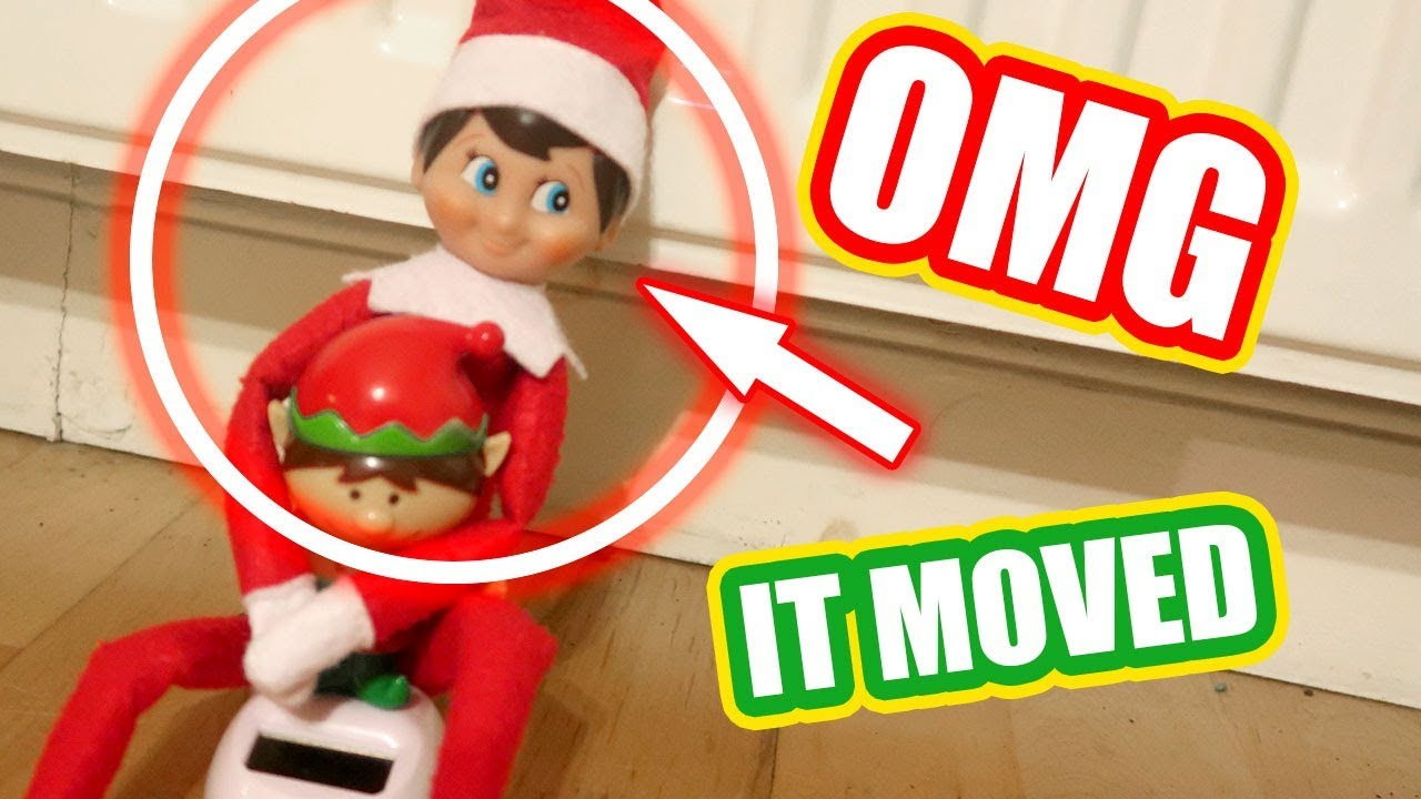 Top 5 Elf On The Shelf Videos 🎄caught Moving On Camera Omg