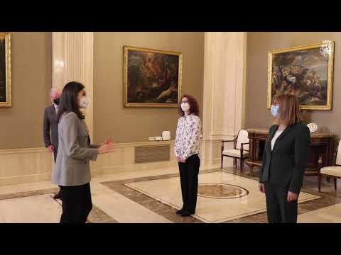 Audiencia Su Majestad la Reina con Confederación SALUD MENTAL ESPAÑA. 11/02/2021
