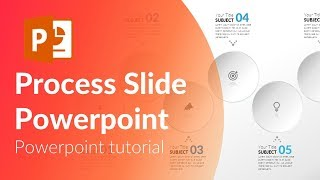 6 step animated process slide in Powerpoint.  Powerpoint tricks