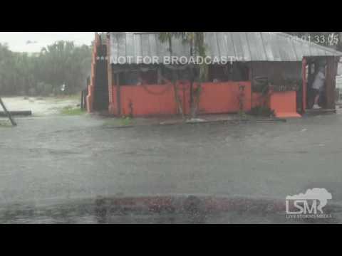 8-8-16 St. Pete Beach, FL Significant Flash Flooding