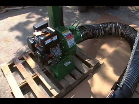 Billy Goat Leaf Vacuum Debris Truck Loader 12hp Youtube