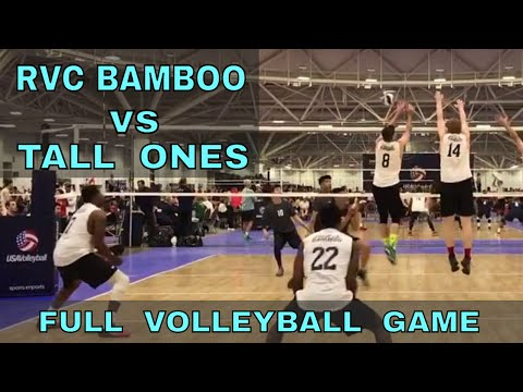 RVC Bamboo vs Tall Ones (FULL GAME 6 Volleyball) - USAV 2017 Nationals