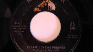 Jimmy Elledge- Please Love Me Forever