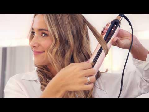 Tutorial Peinado Ghd Y María Pombo | Ondas Glam | Styler Ghd Platinum+ Royal Dynasty
