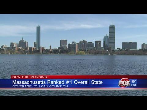 Massachusetts ranked #1 overall state