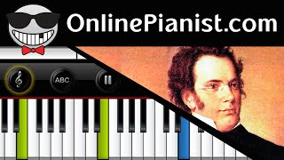 Franz Schubert - Ave Maria (With Melody) - Piano Tutorial & Sheets (Intermediate)