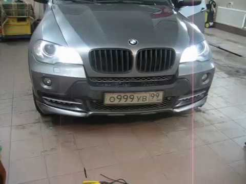BMW X5 e70 DRL (Daytime Running Lamp).AVI