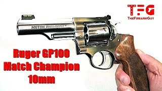 Ruger GP100 Match Champion 10mm - TheFireArmGuy