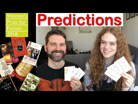 The Women's Prize for Fiction (formerly the Baileys Prize) 2018 Predictions with Anna