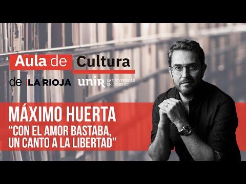Aula de Cultura virtual: Maximo Huerta