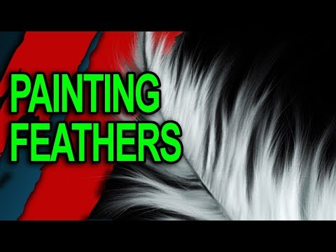 How To Paint Feathers - Native American Sioux War Chief
