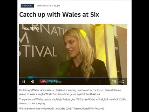 #CIFF2019 on ITV Wales