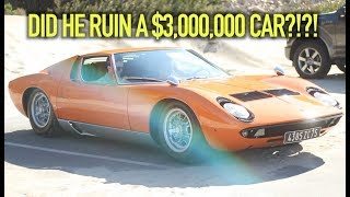 THE $3,000,000 CARMAX LAMBO GOT WRITTEN ON...!?!?!