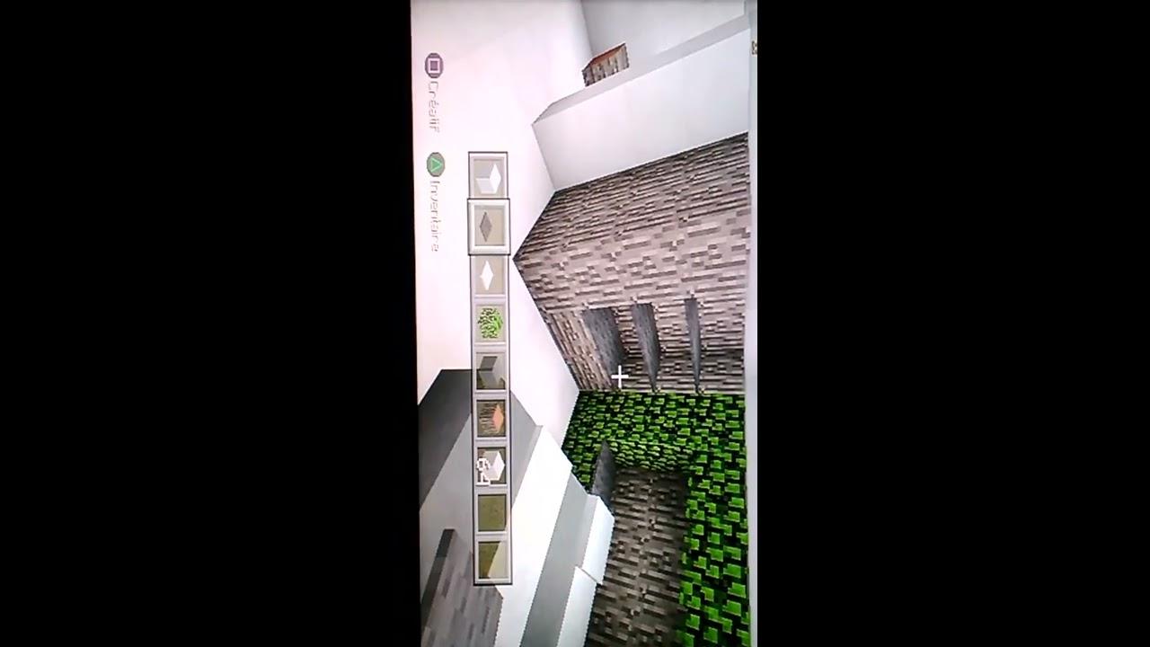 Tuto Chambre Moderne Minecraft - Décoration de maison idées de ...
