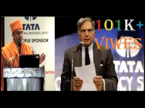 Inspiration Speech on life of Ratan Tata - Pujya Gnanvatsal Das