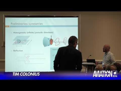 2016 AIAA AVIATION Forum: Flow Control - Tim Colonius