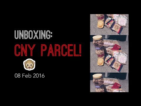 Unboxing: Chinese New Year Parcel!