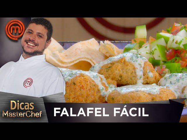 FALAFEL FÁCIL com Raul Lemos | DICAS MASTERCHEF