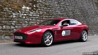 34x Aston Martins Accelerating - Vanquish, Rapide S, V8 Vantage and More!