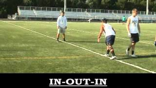 Wide Receiver Press Release Drills 2011