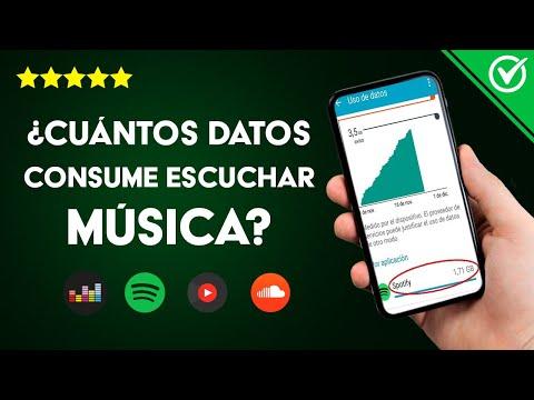 ¿Cuántos Datos Consume Escuchar Música en Spotify, Deezer, SoundCloud y YouTube Music?