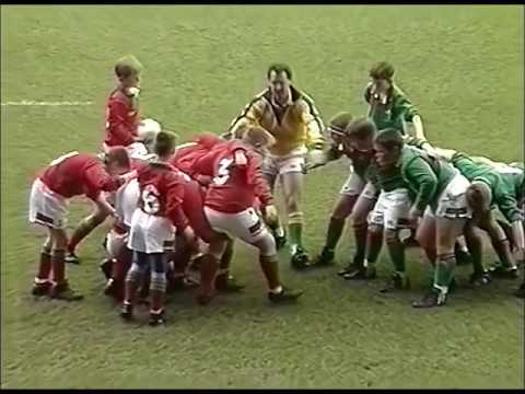 East Wales vs West Wales Under 11 Rugby Union 1993