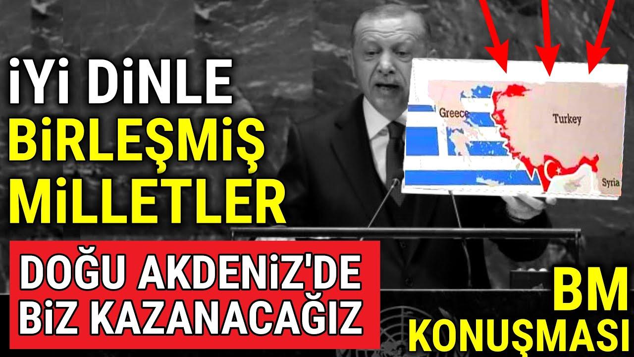BM'de İlk Erdoğan Konuştu, TÜM LİDERLER DİNLEDİ.
