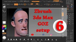 6- Zbrush ve 3ds Max  GOZ setup ; Goz kurulum