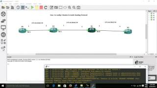 How to config 4 Router Static Route in GNS3 Lab, GNS3 with Static Route Lab, 4 Router Static Lab